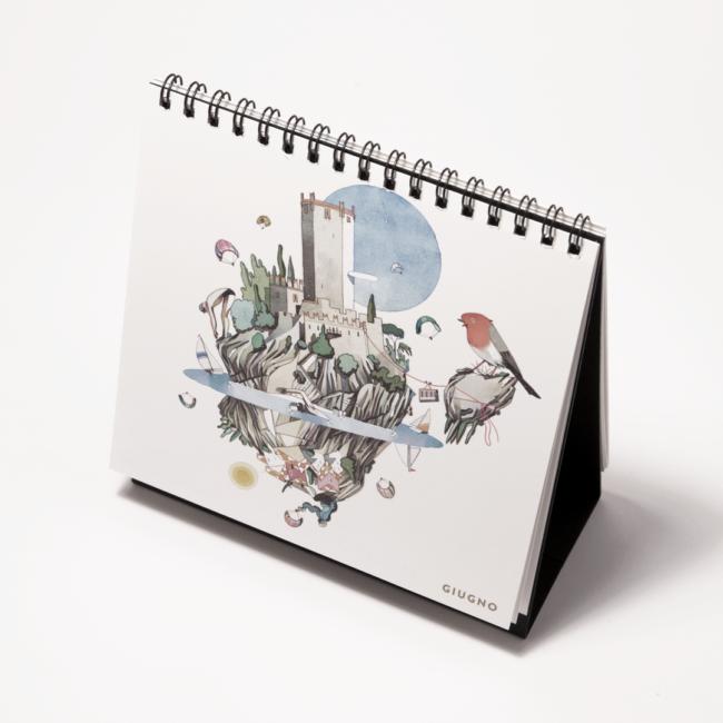 Calendario Cassa Rurale Alto Garda 2018: Malcesine